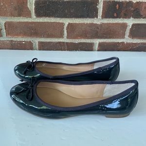Banana Republic patent leather flats